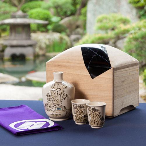 三谷春 特別贈答用大吟醸セット(白山紬)